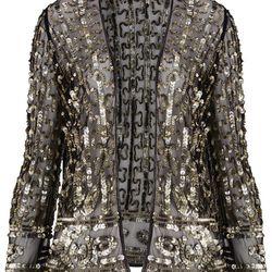 Sequin Mesh Jacket, $170