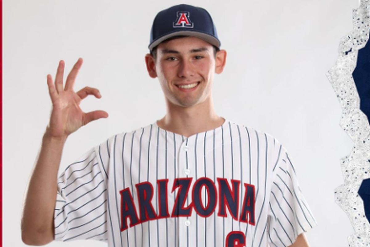andrew-dalquist-arizona-wildcats-white-sox-mlb-draft-2019-freshman-college