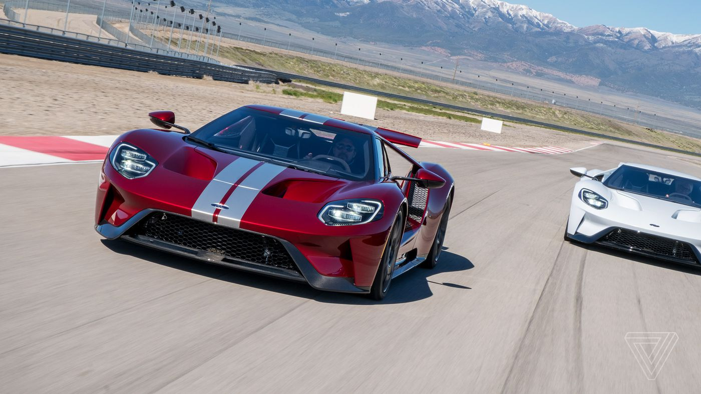 Ford ford gt images : Driving the Ford GT, America's fastest supercar - The Verge