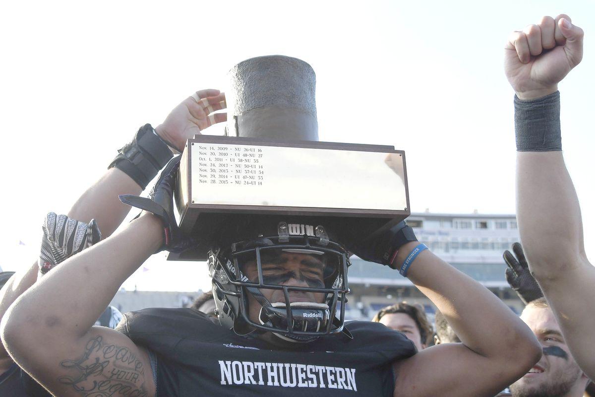 NCAA Football: Illinois at Northwestern