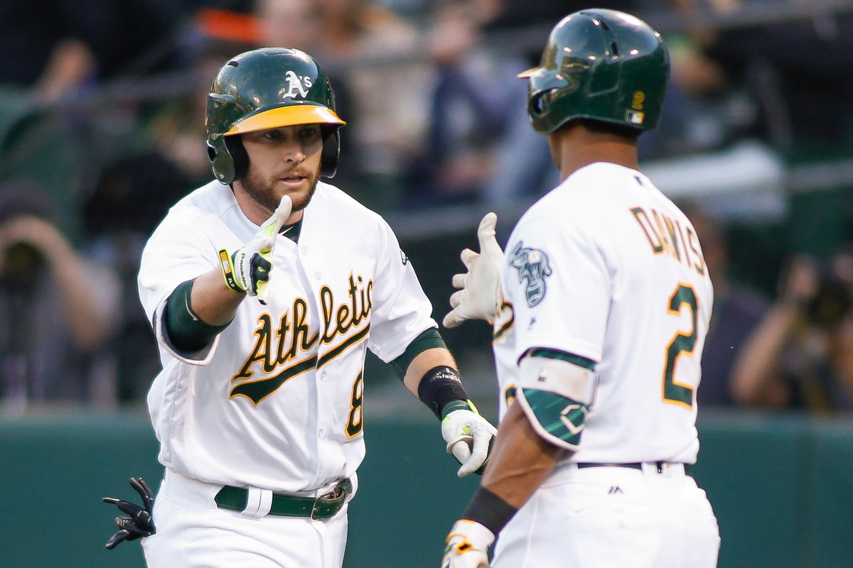 A's players.