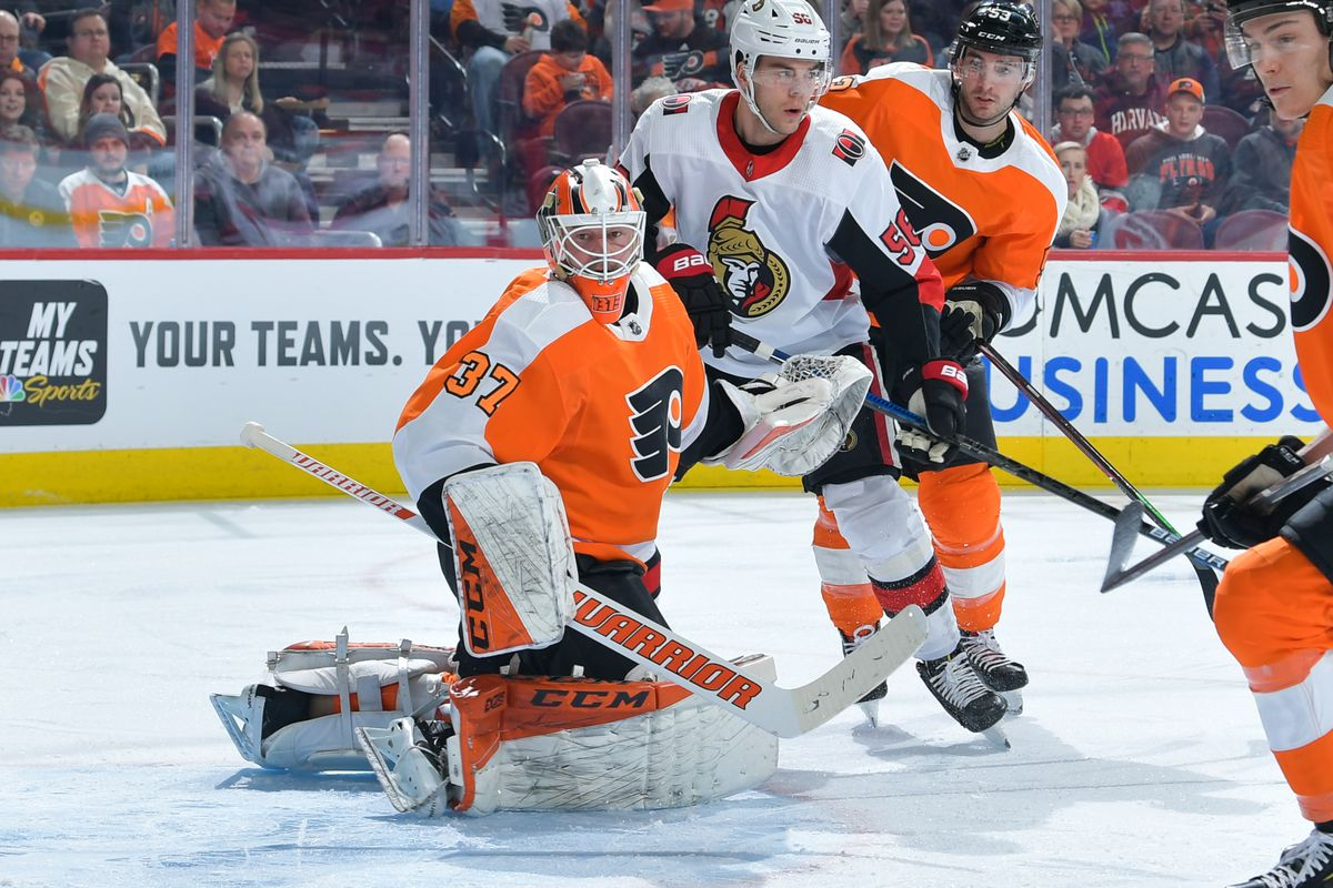 8e2cdfe2 2018-19 Flyers Player Review: Brian Elliott, perfectly average ...