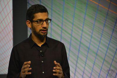 Sundar Pichai Stock Google Oct 2015 CEO