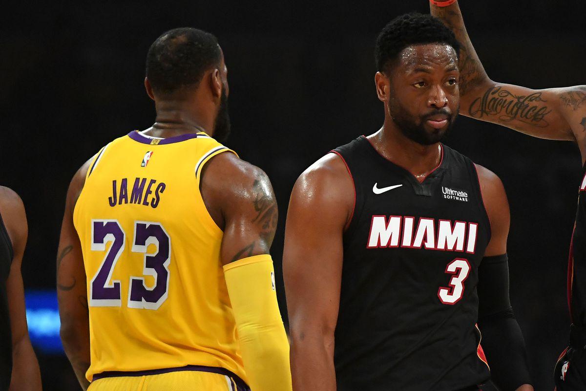 new product dee07 532e2 Lakers vs. Heat Final Score: LeBron James outduels Dwyane ...