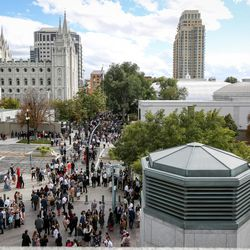 Funeral services for President Thomas S. Monson will be held in the Conference Center on Temple Square on Friday, Jan. 12.