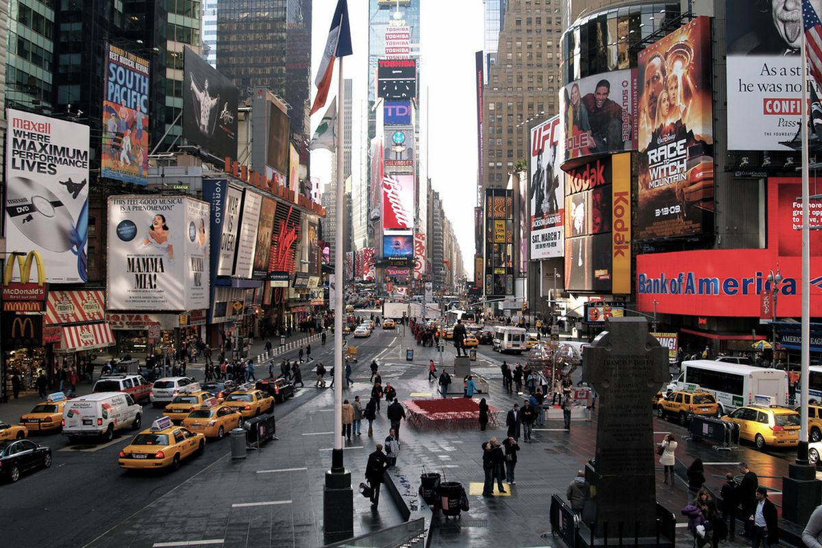 NYC Times Square flickr