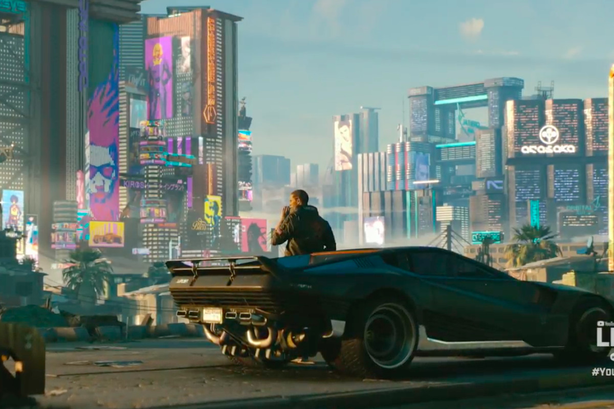 Cyberpunk 2077 Looks Incredible Our First Real Look At The Next Big RPG From Makers Of Witcher 3