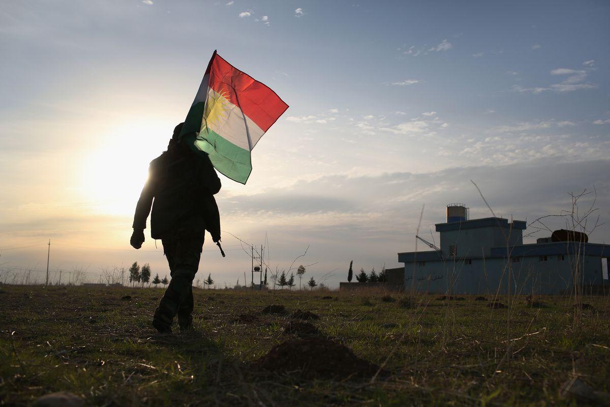Kurdish Peshmerga Control Sinjar After Driving Out ISIL With U.S. Airstrikes
