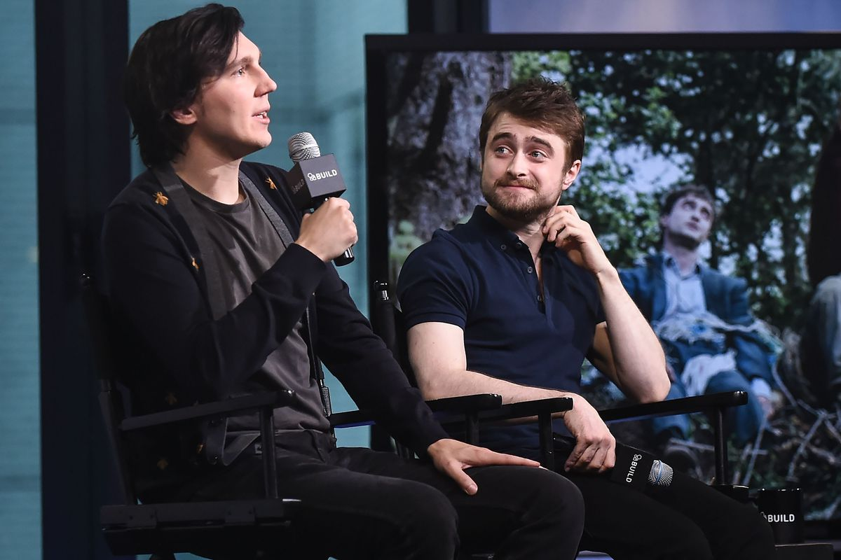 """AOL Build Presents - Paul Dano And Daniel Radcliffe From The Movie """"Swiss Army Man"""""""
