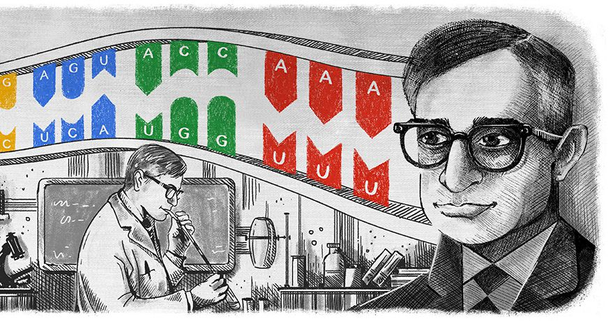 Today's Google Doodle honors a Nobel...