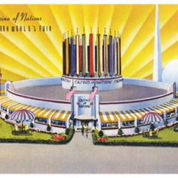 """Casino of Nations via <a href=""""http://www.allposters.com/-sp/Casino-of-Nations-New-York-World-s-Fair-Posters_i8272436_.htm"""">All Posters</a>."""