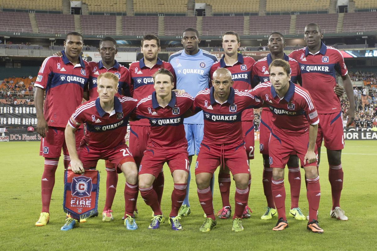 Save Arevalo Rios (front, third from left), this entire squad returns to the Fire for 2014. Where does the roster need strengthening before the season begins?