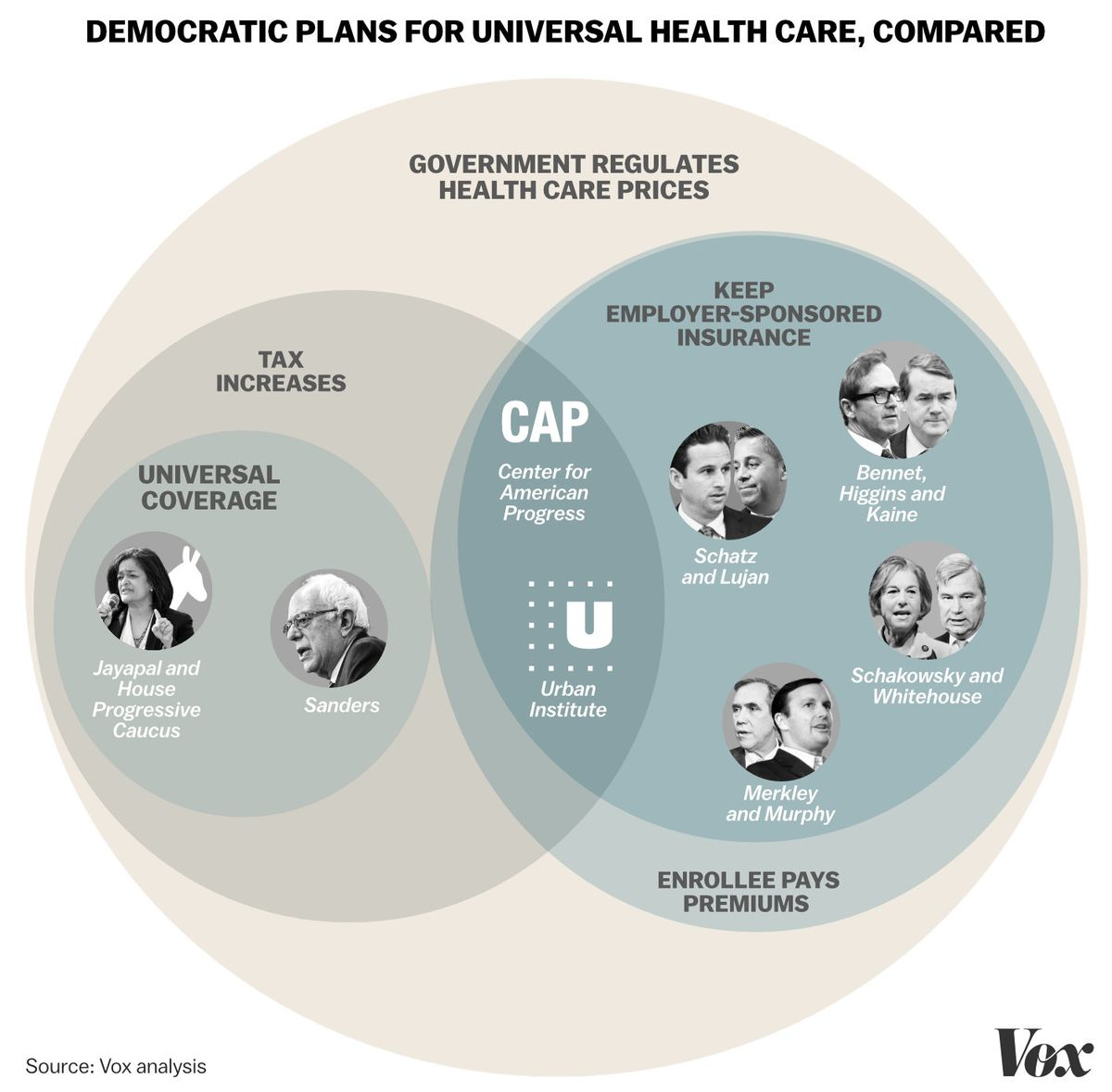 Here's How 8 Of The Democrats' Plans For Universal Health Care Work