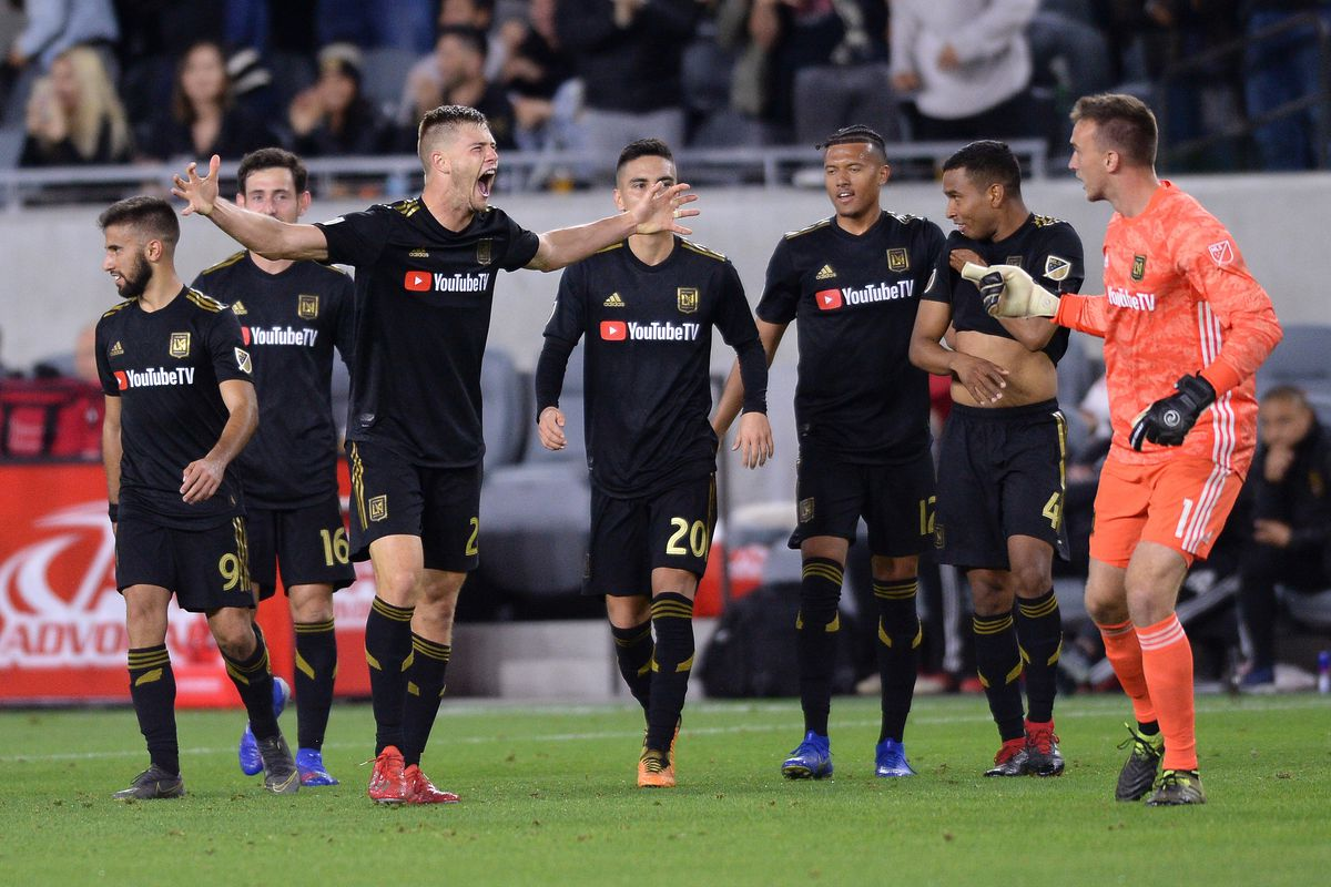 9ee52555c70 Familiar Late Fireworks: LAFC 2, Real Salt Lake 1 - Angels on Parade