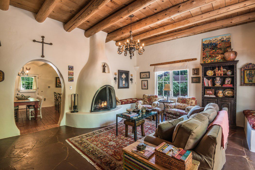 100 Year Old Adobe Home Asks 698k In Santa Fe Curbed