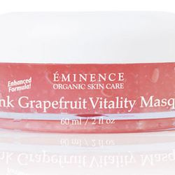 Éminence Pink Grapefruit Vitality Masque, $52, Ritual Salon & Spa. This grapefruit-infused face mask contains vitamin-rich grapefruit along with moisture to rejuvenate your face.