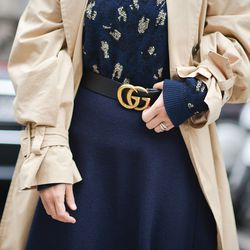 The classic Gucci belt hasn't changed much since the '90s, but it's sold out almost everywhere.