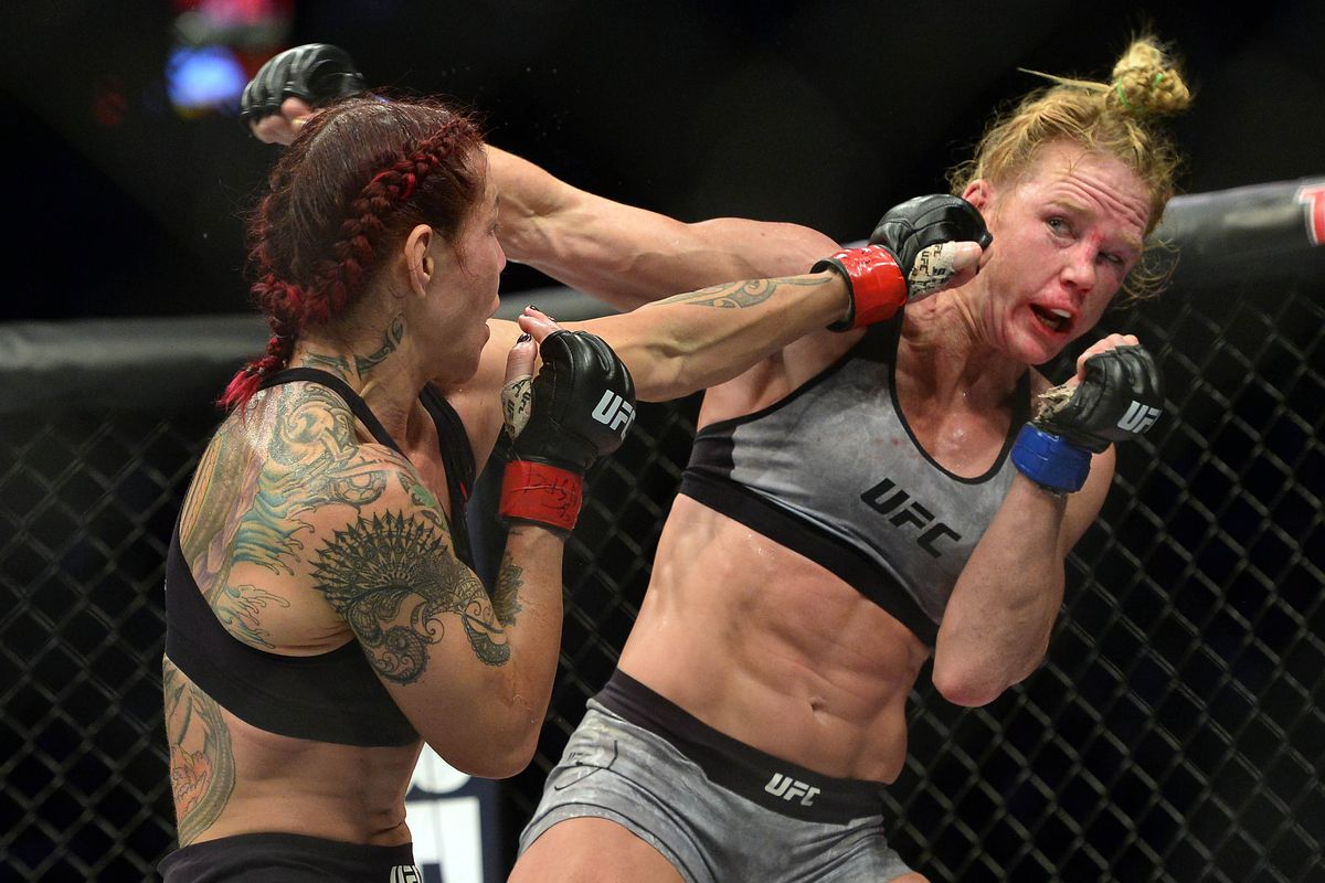 cyborg holly holm fighting megan anderson to improve terrible