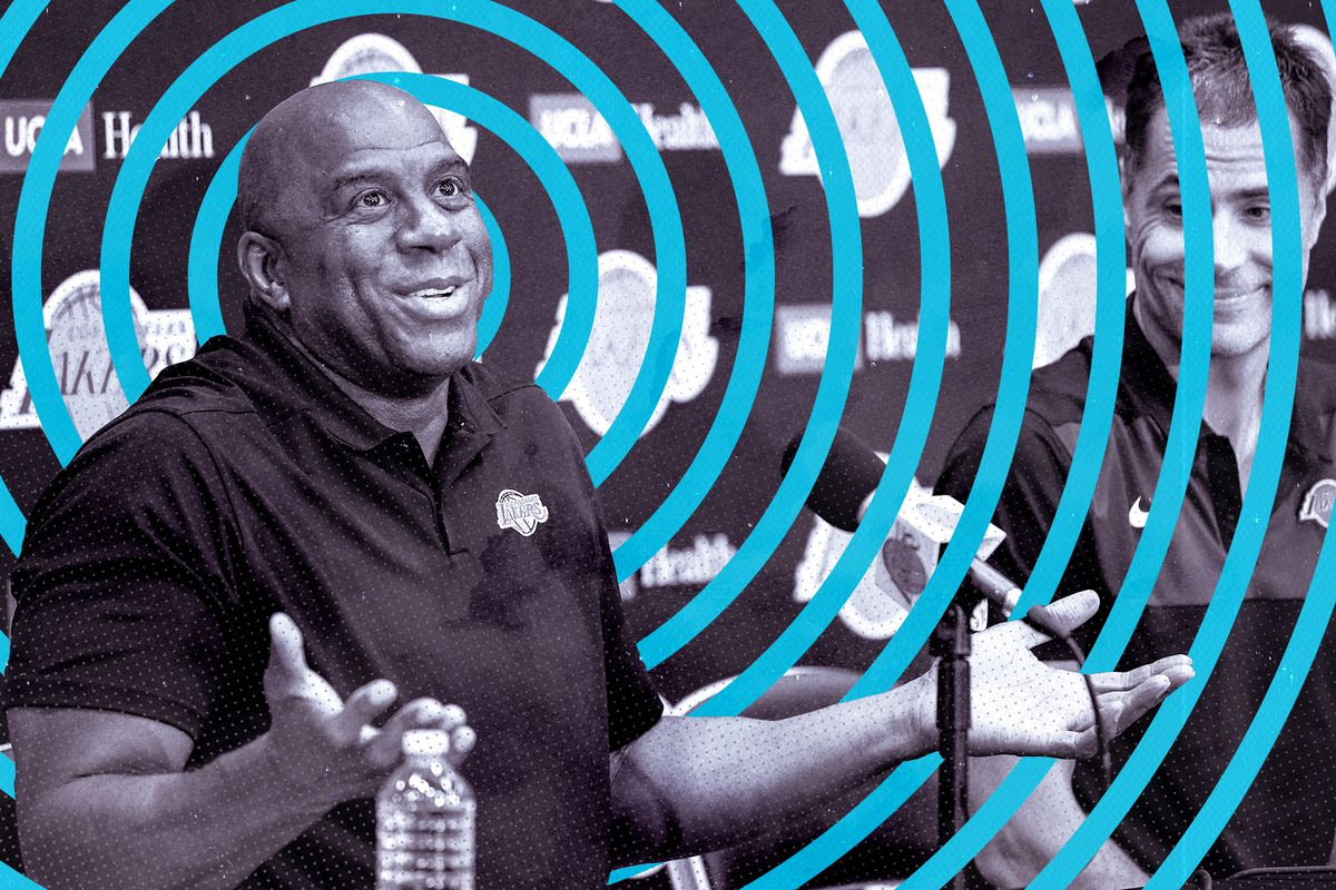 e68773e07 Getty Images SB Nation illustration by Tyson Whiting. Magic Johnson could  have ...