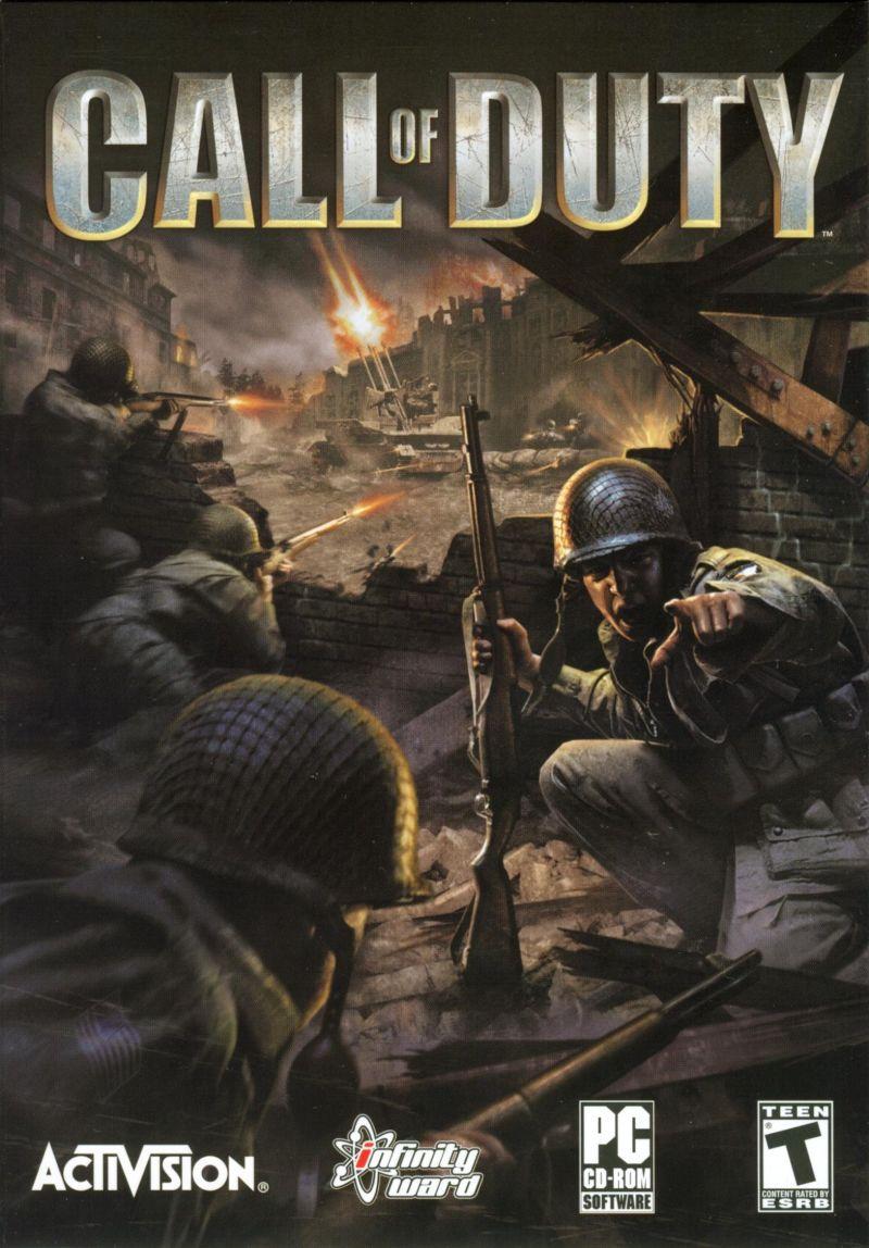 cover of original Call of Duty for Windows