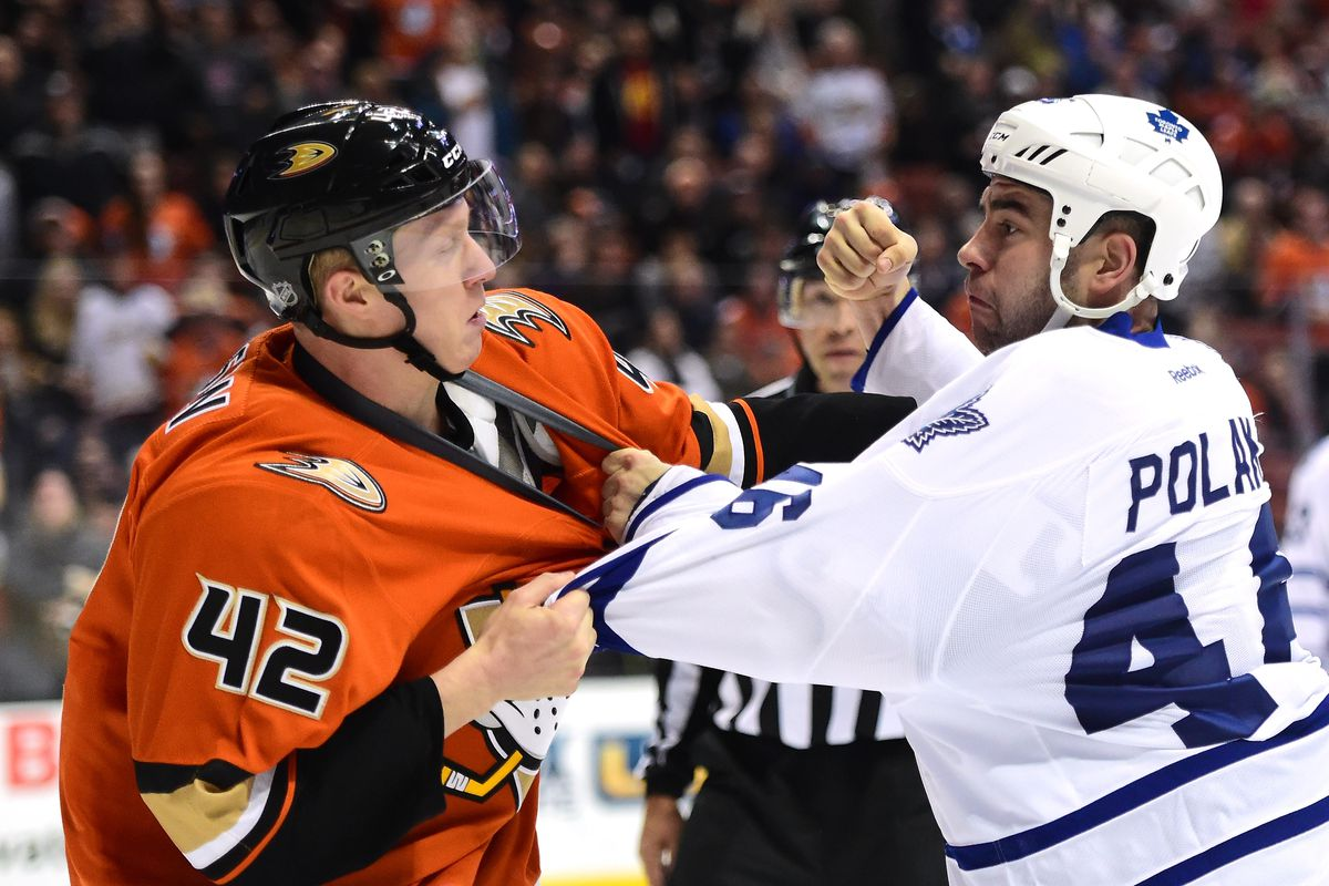 Preview: Maple Leafs make line up changes versus the Anaheim