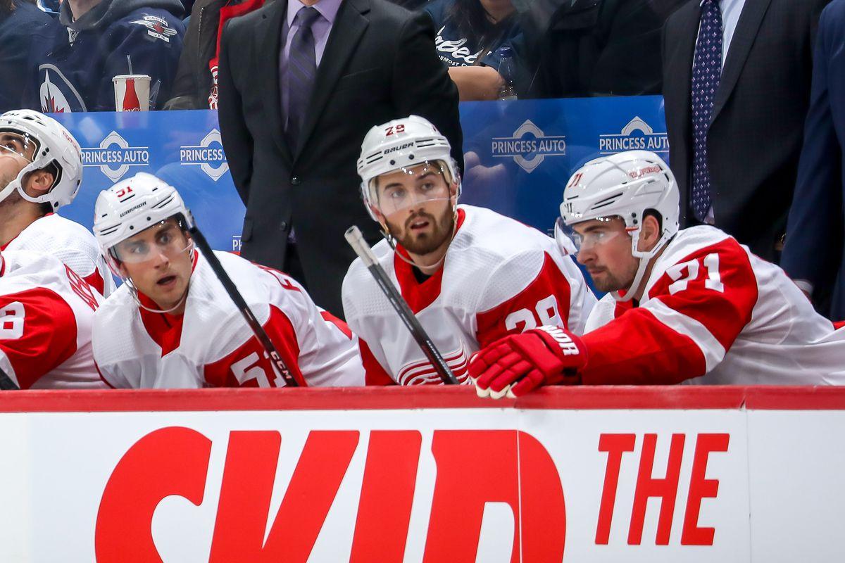 Detroit Red Wings v Winnipeg Jets