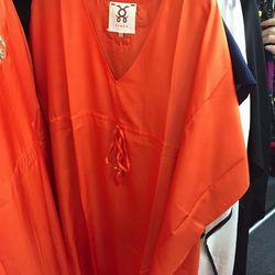 Figue orange tunic, $65