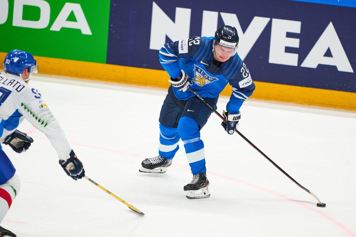 Finland v Italy: Group B - 2021 IIHF Ice Hockey World Championship