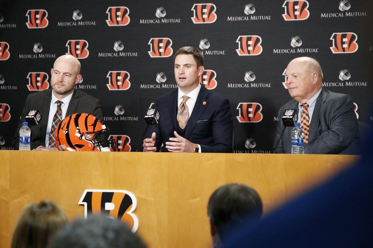 Cincinnati Bengals Introduce Zac Taylor