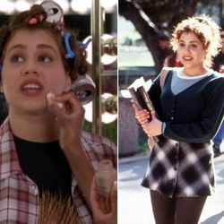 <b>Clueless:</b> As if Brittany Murphy doesn't look awesome in her '90s-school girl sweaters. Definitely an upgrade to those farmer clothes.