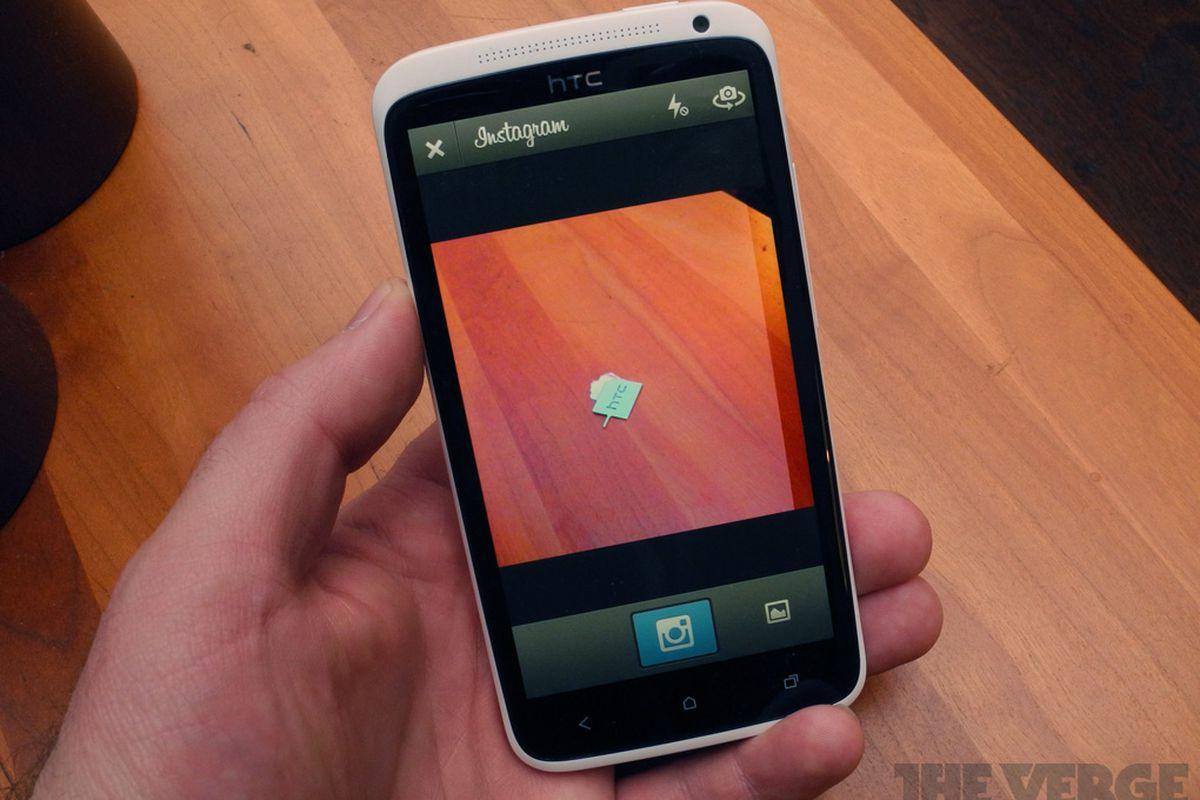 HTC One X Instagram