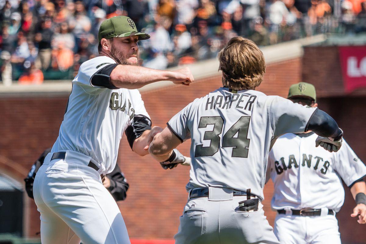 MLB: Washington Nationals at San Francisco Giants