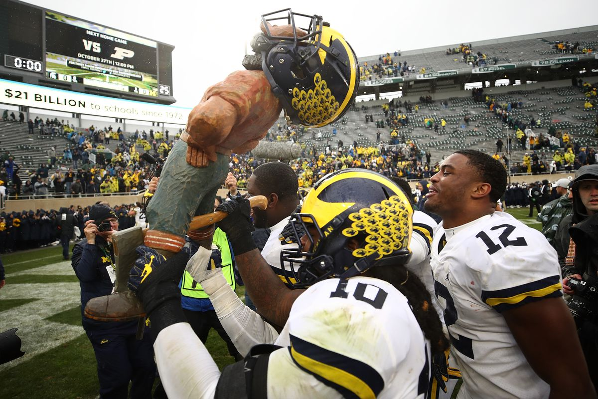 WATCH: Brand new hype video for Michigan-Michigan State game