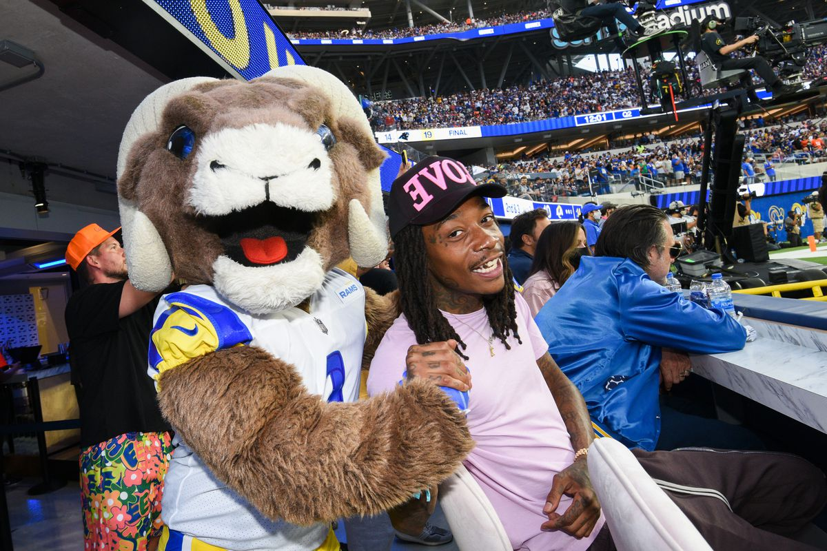 Bootsy Bellows At SoFi Stadium's Opening Day