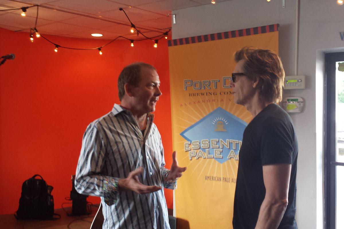 Kevin Bacon at Port City