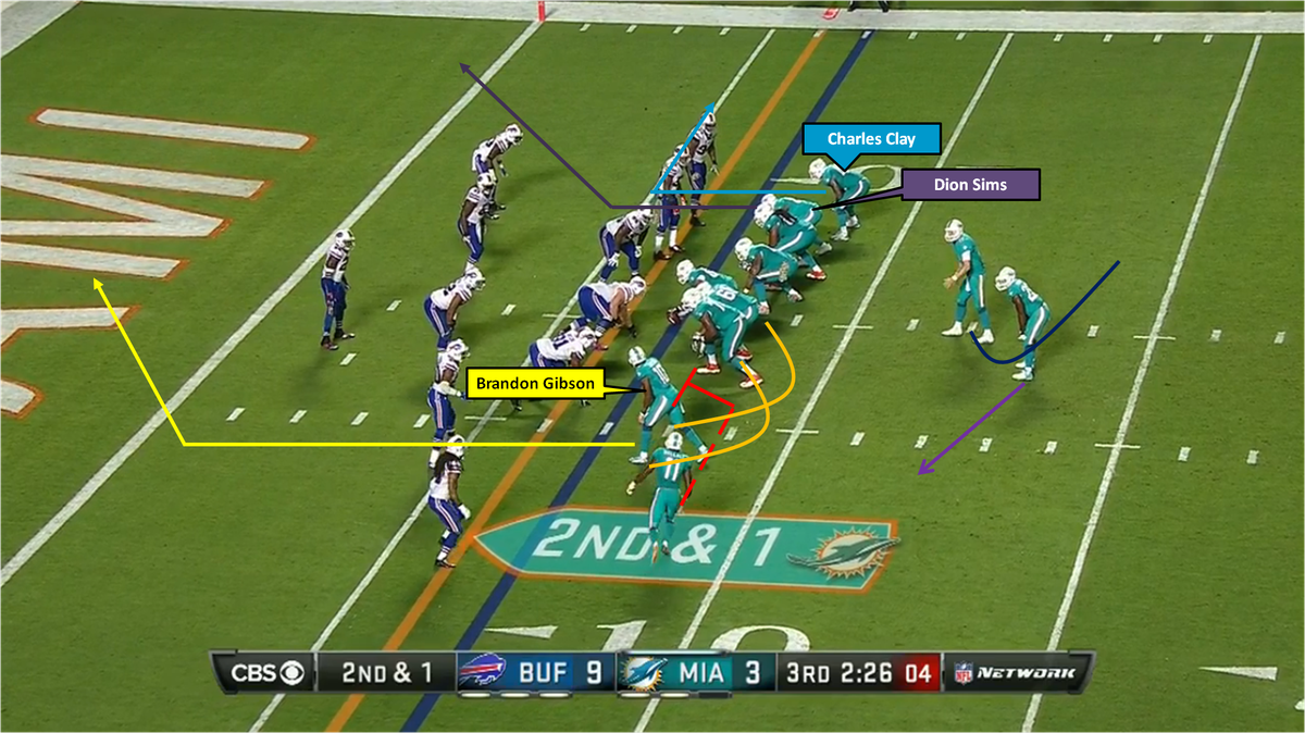 Tannehill to Gibson TD against Bills 1a Graphics