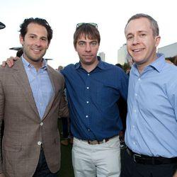 Ben Leventhal, Lockhart Steele, Josh Albertson.
