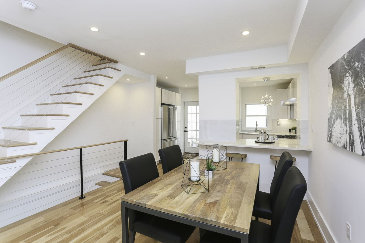 contemporary kitchen backsplash colonial townhome in rittenhouse asks 950k after 2464
