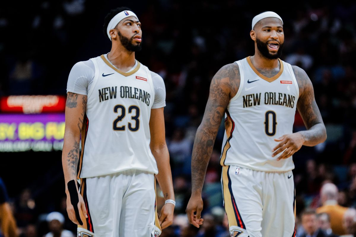 bfa21c1ac NBA scores 2018  DeMarcus Cousins and Anthony Davis still need help ...