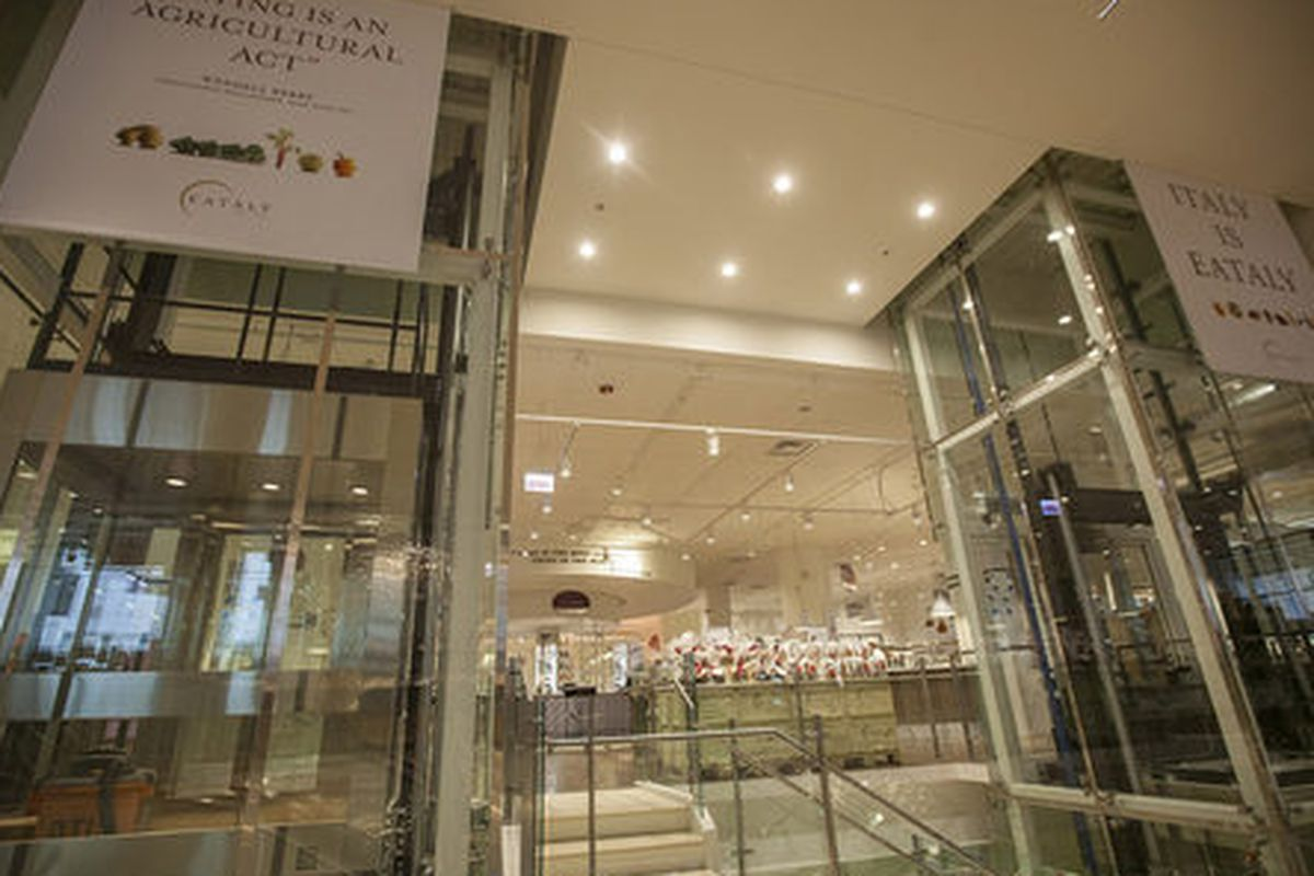 Eataly Chicago opens today.