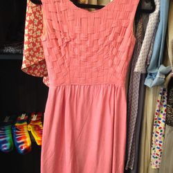 Some Odd Rubies basket weave dress, $35