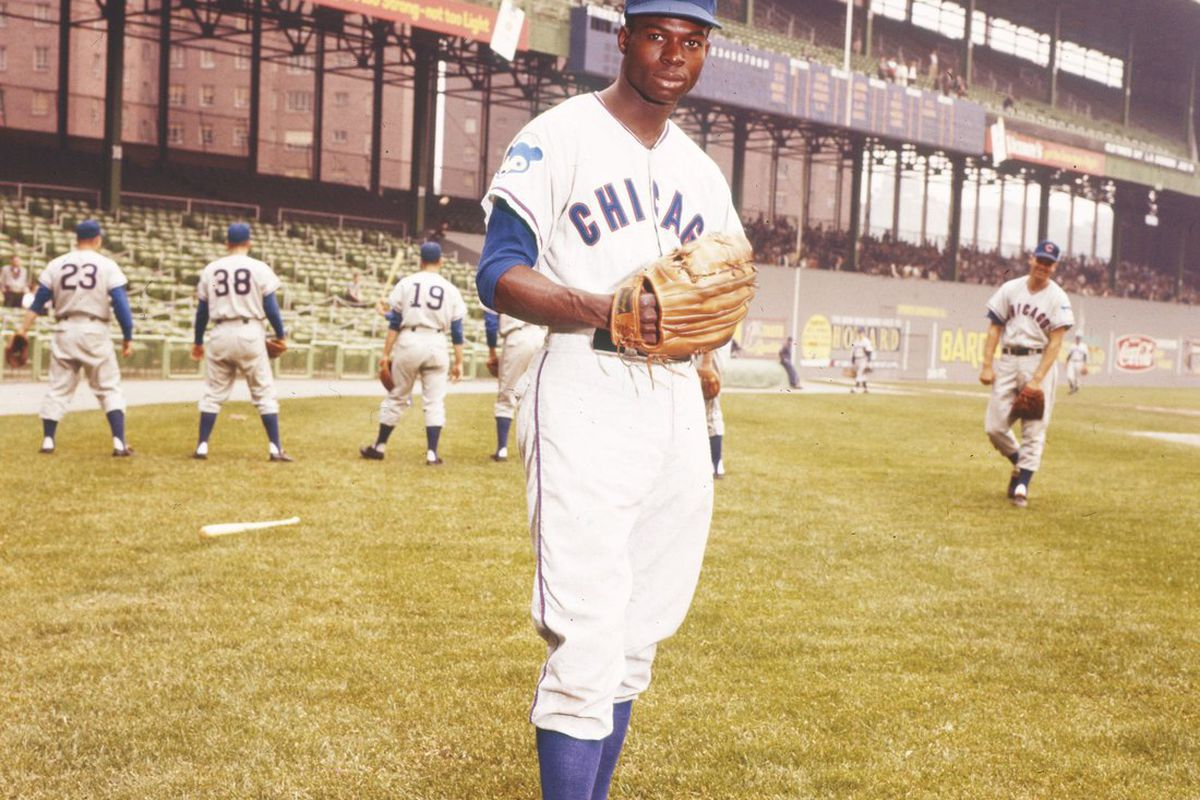 Lou Brock poses for a portrait in the Polo Grounds in New York. (Transcendental Graphics/Getty Images Sport)