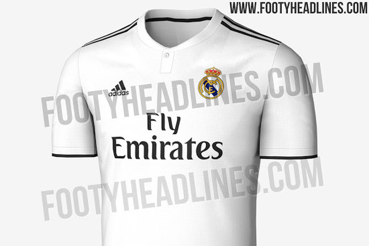 c1d252e88 Real Madrid 18 19 home kit leaked - Managing Madrid