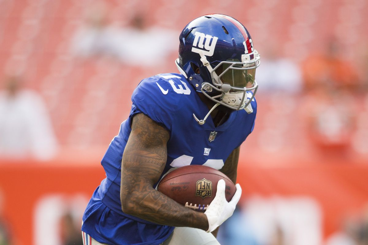 NFL: New York Giants at Cleveland Browns