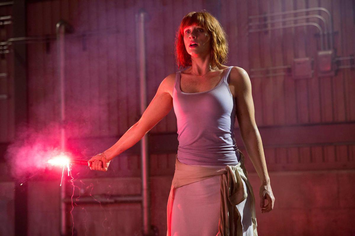 "Bryce Dallas Howard stars in ""Jurassic World."""