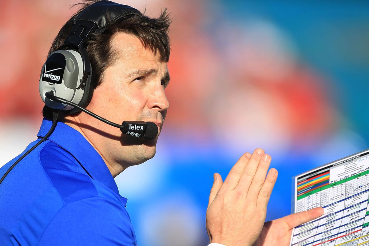 What does Will Muschamp see on the horizon?