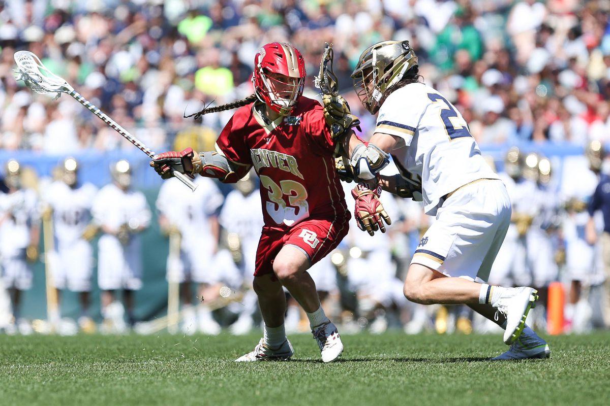 NCAA Lacrosse: Semifinals - Denver Pioneers vs. Notre Dame Fighting Irish