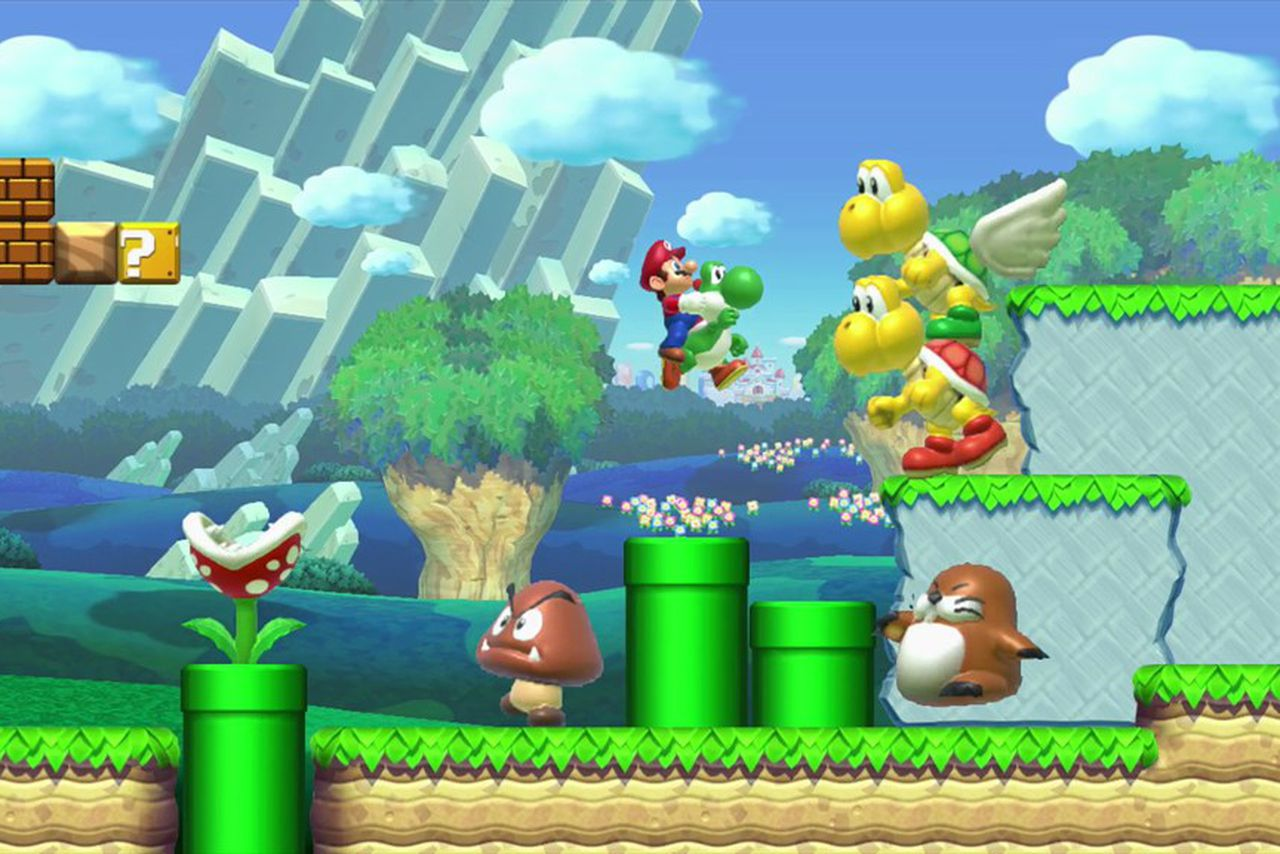 Super Mario Maker is the Wii U's defining game | The Verge