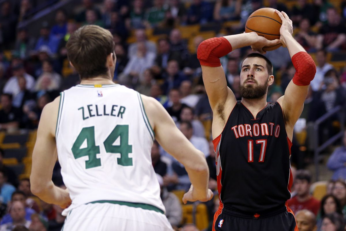 Jonas Valanciunas and the Raptors take the show on the road and visit the Celtics.