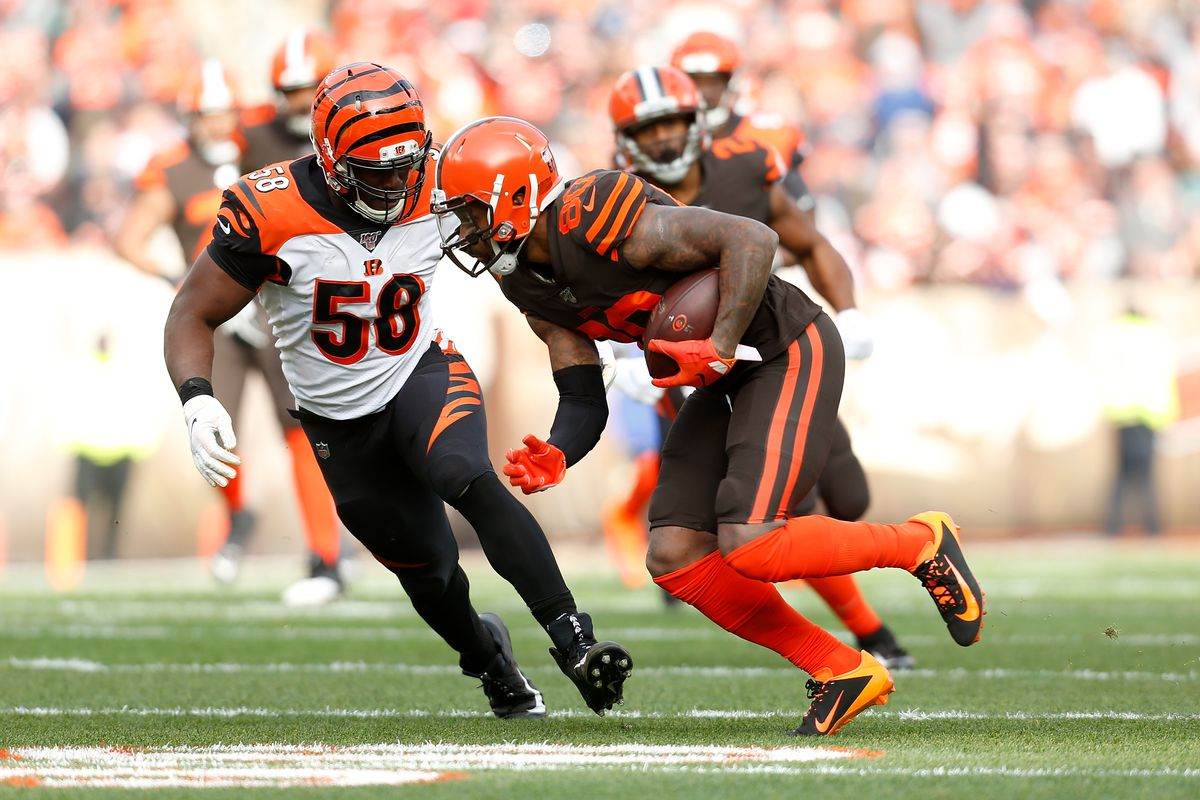 Bengals Film Room: Carl Lawson steps up in rare starting role
